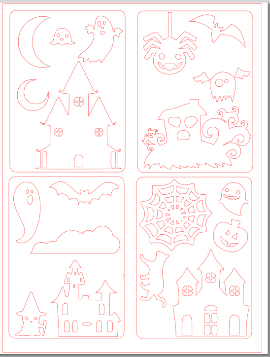 _cartes halloween pour enfants