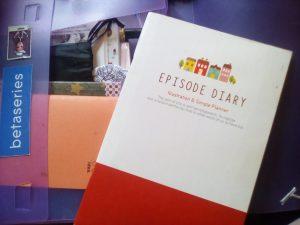 Mon cahier des rêves et autres fatras que je trimballe partout.