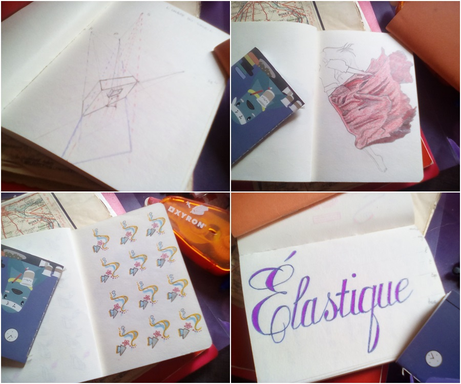 carnet dessin